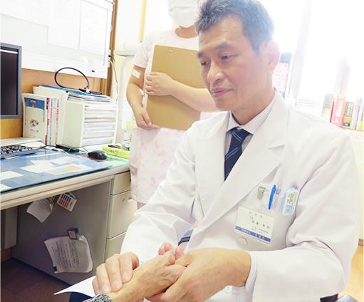 画像:地域に密着した医療